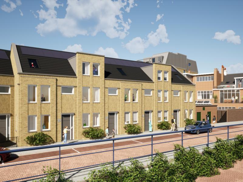 Stadswoning, bouwnummer 3 , Dordrecht