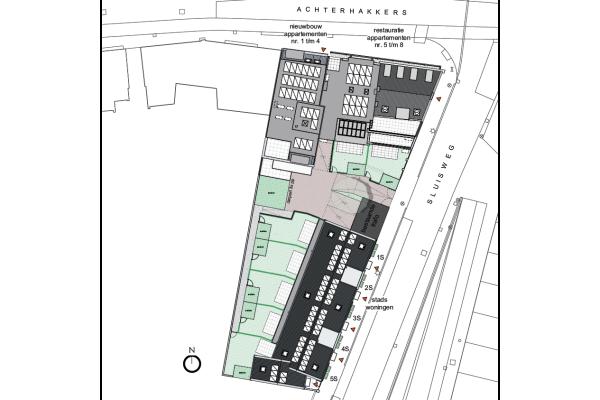 Appartementen Nieuwbouw, bouwnummer 1 , Dordrecht