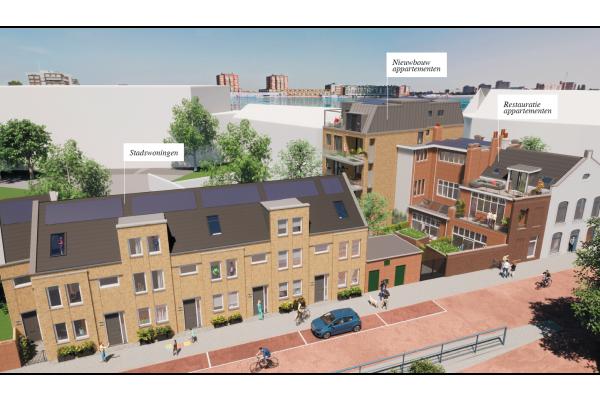 Appartementen Nieuwbouw, bouwnummer 4 , Dordrecht