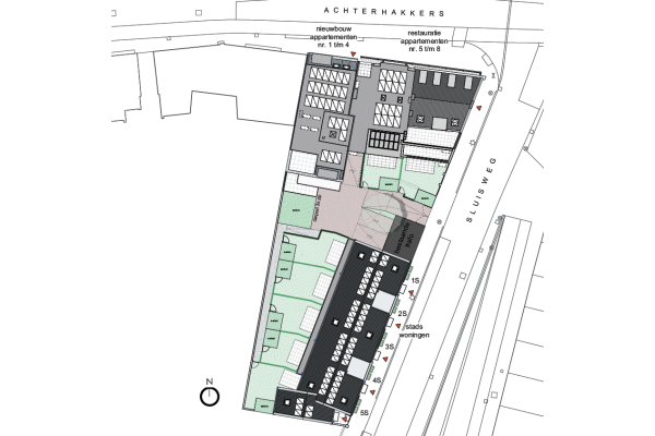 Appartementen Transformatie, bouwnummer 6 , Dordrecht