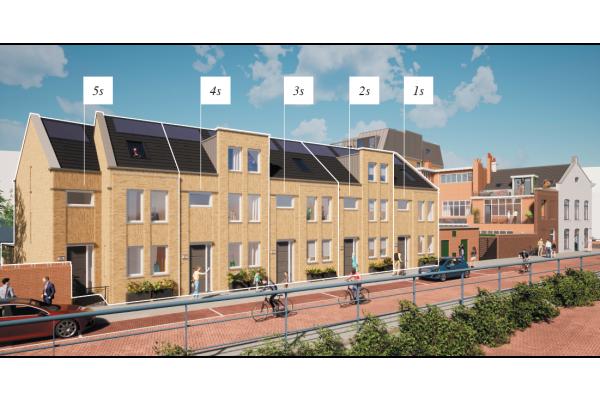 Stadswoning S, bouwnummer 1 , Dordrecht