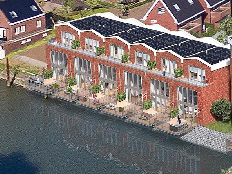 Kade Noord, bouwnummer 1 , ALBLASSERDAM