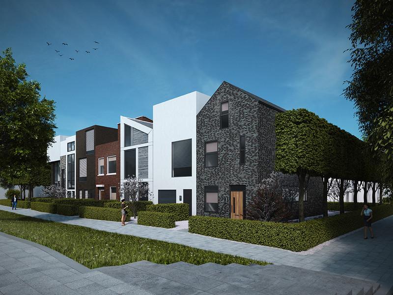 Kavel Troestrahof, bouwnummer 1 , Dordrecht