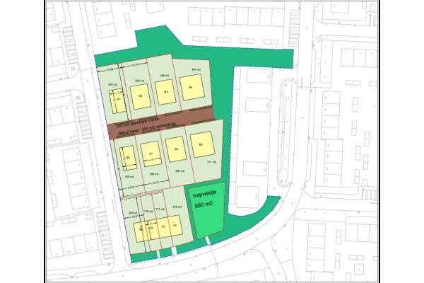 Kavel voor vrijstaande woning, bouwnummer 6 , Dordrecht