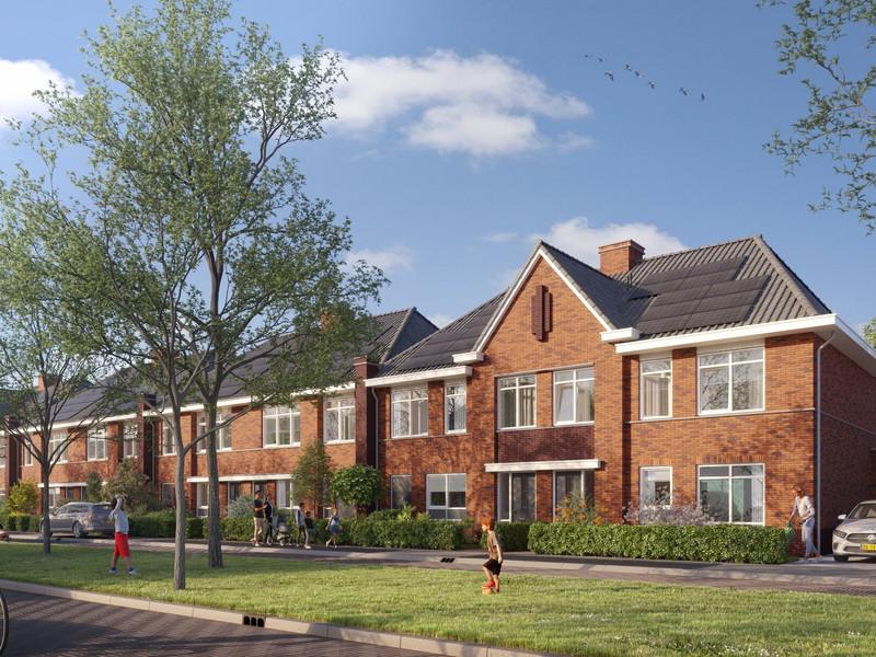 Herenhuizen hoekwoningen, bouwnummer 14 , Papendrecht